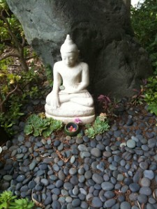 Buddha at my favorite meditation place - Esalen in Big Sur