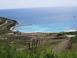 Touring St. Maarten island