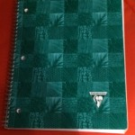 My favorite journal by Clairefontaine