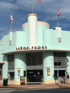 A favorite art deco building in Miami
